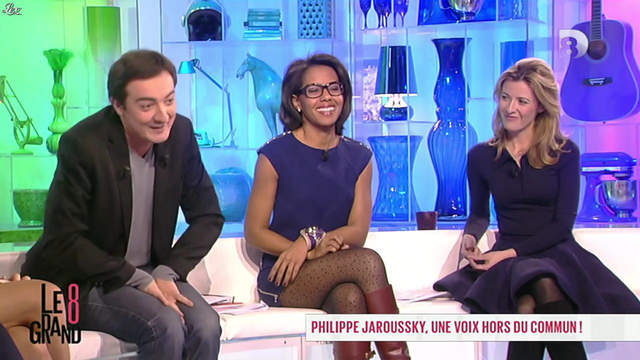 Audrey Pulvar dans le Grand 8. Diffusé à la télévision le 13/11/12.