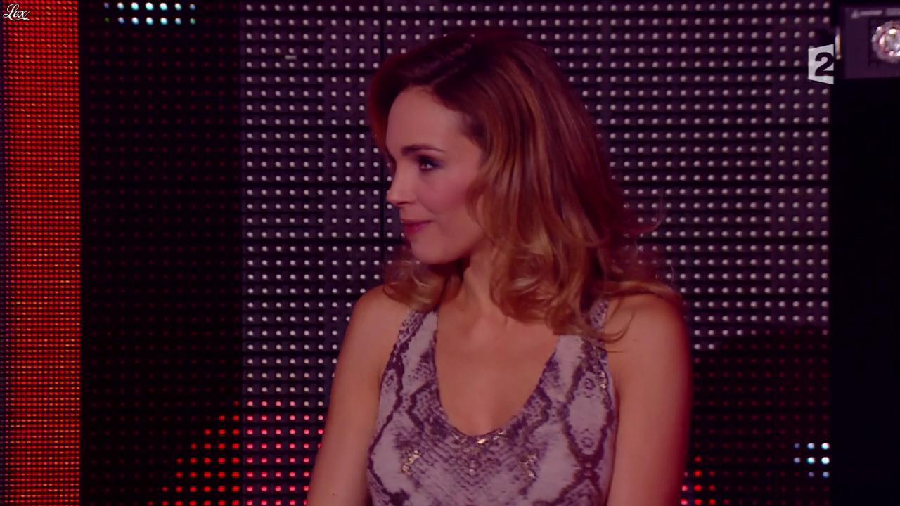 Claire Keim dans la Fête de la Chanson Francaise. Diffusé à la télévision le 29/11/13.