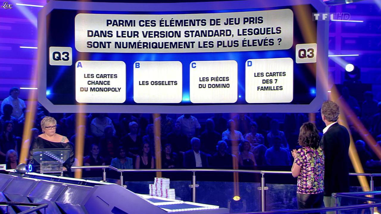 Estelle Denis dans Money Drop. Diffusé à la télévision le 21/06/13.