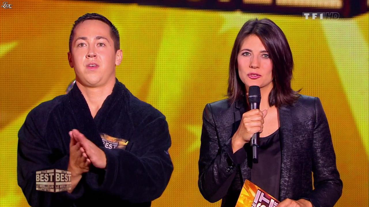 Estelle Denis dans The Best. Diffusé à la télévision le 02/08/13.