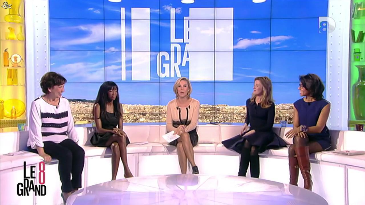 Hapsatou Sy, Laurence Ferrari et Audrey Pulvar dans le Grand 8. Diffusé à la télévision le 13/11/12.
