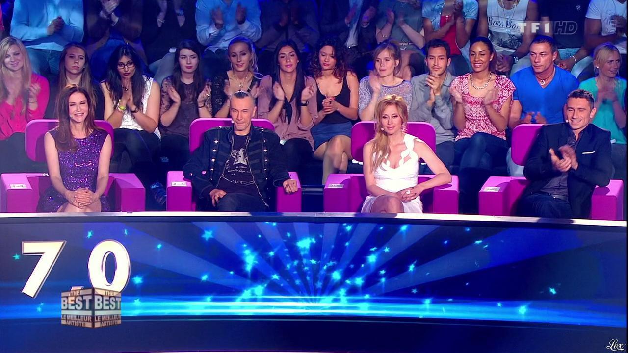 Lara Fabian et Alessandra Martines dans The Best. Diffusé à la télévision le 16/08/13.