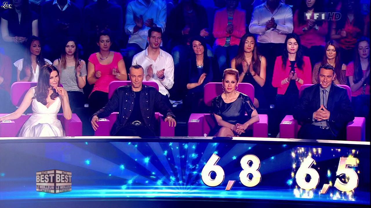 Lara Fabian dans The Best. Diffusé à la télévision le 02/08/13.