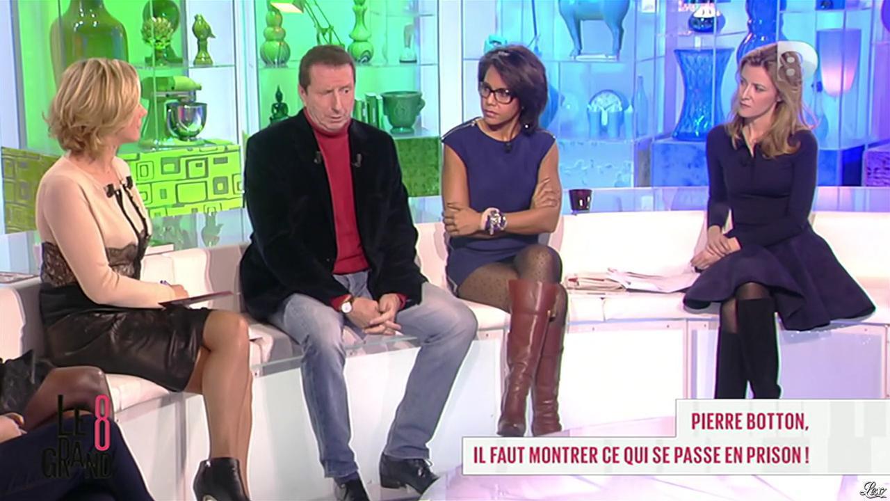 Laurence Ferrari et Audrey Pulvar dans le Grand 8. Diffusé à la télévision le 13/11/12.