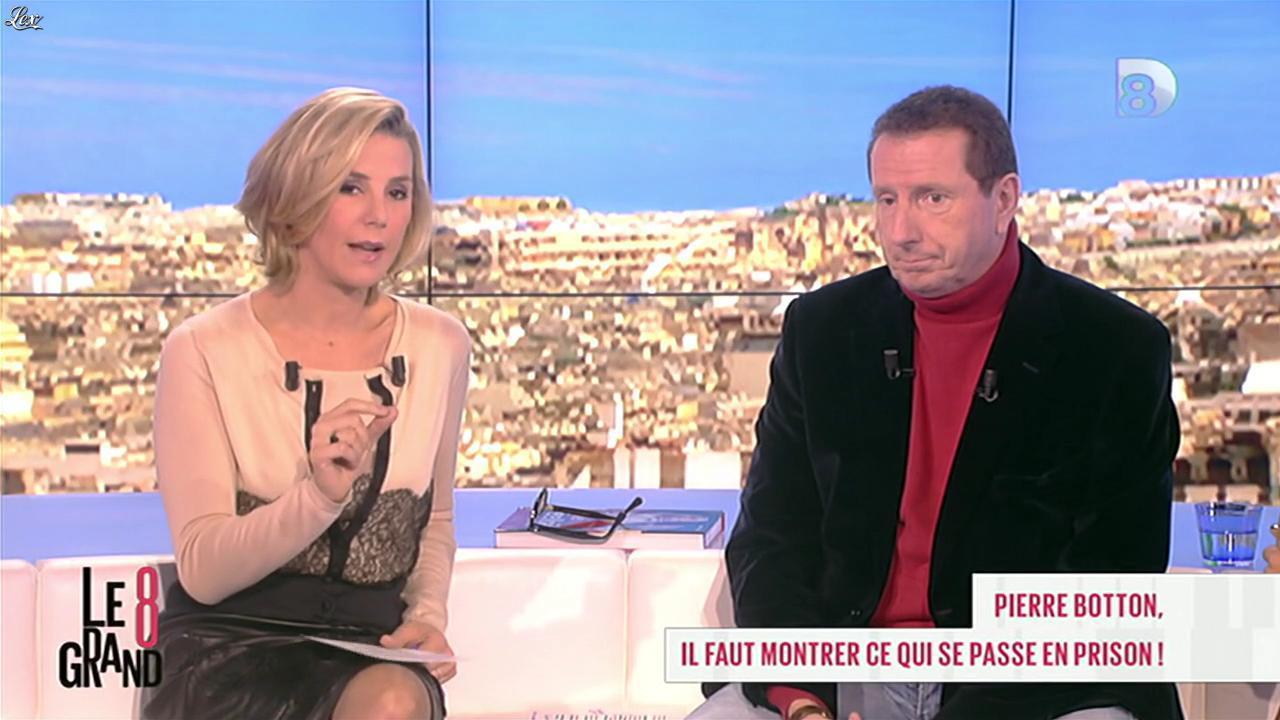 Laurence Ferrari dans le Grand 8. Diffusé à la télévision le 13/11/12.