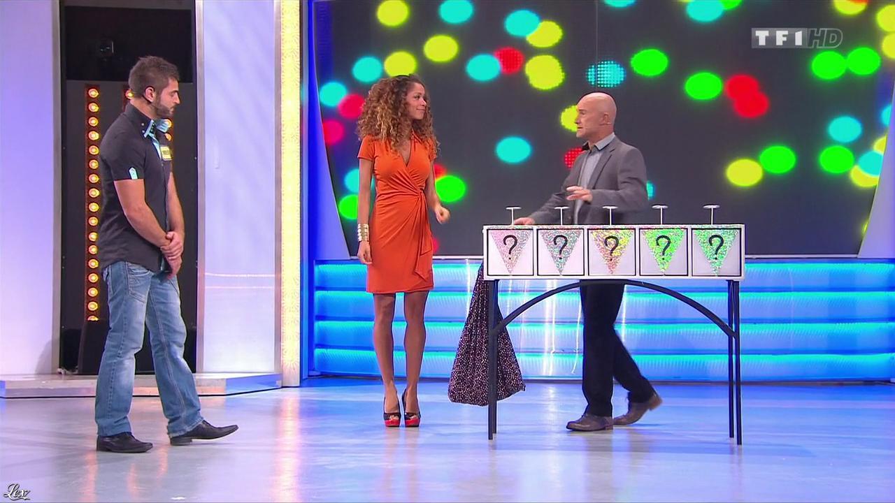 Doris Rouesne dans le Juste Prix. Diffusé à la télévision le 14/11/13.