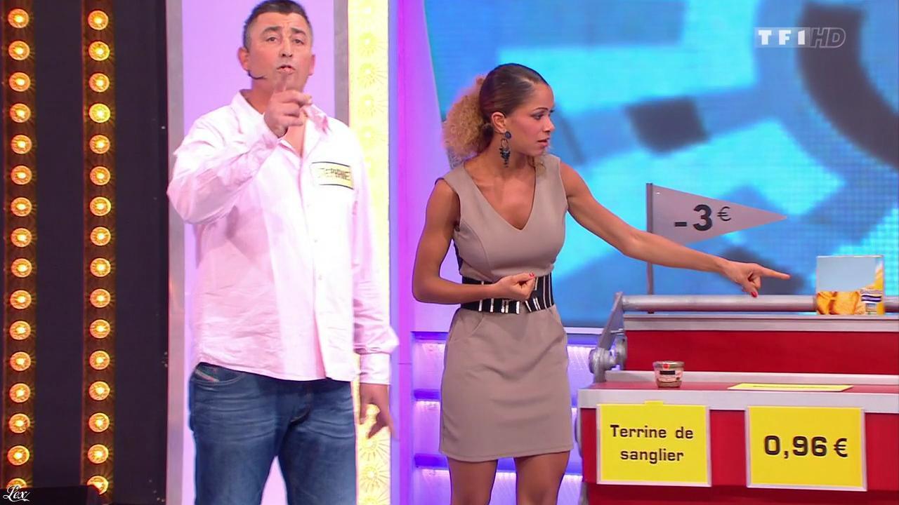 Doris Rouesne dans le Juste Prix. Diffusé à la télévision le 25/11/13.