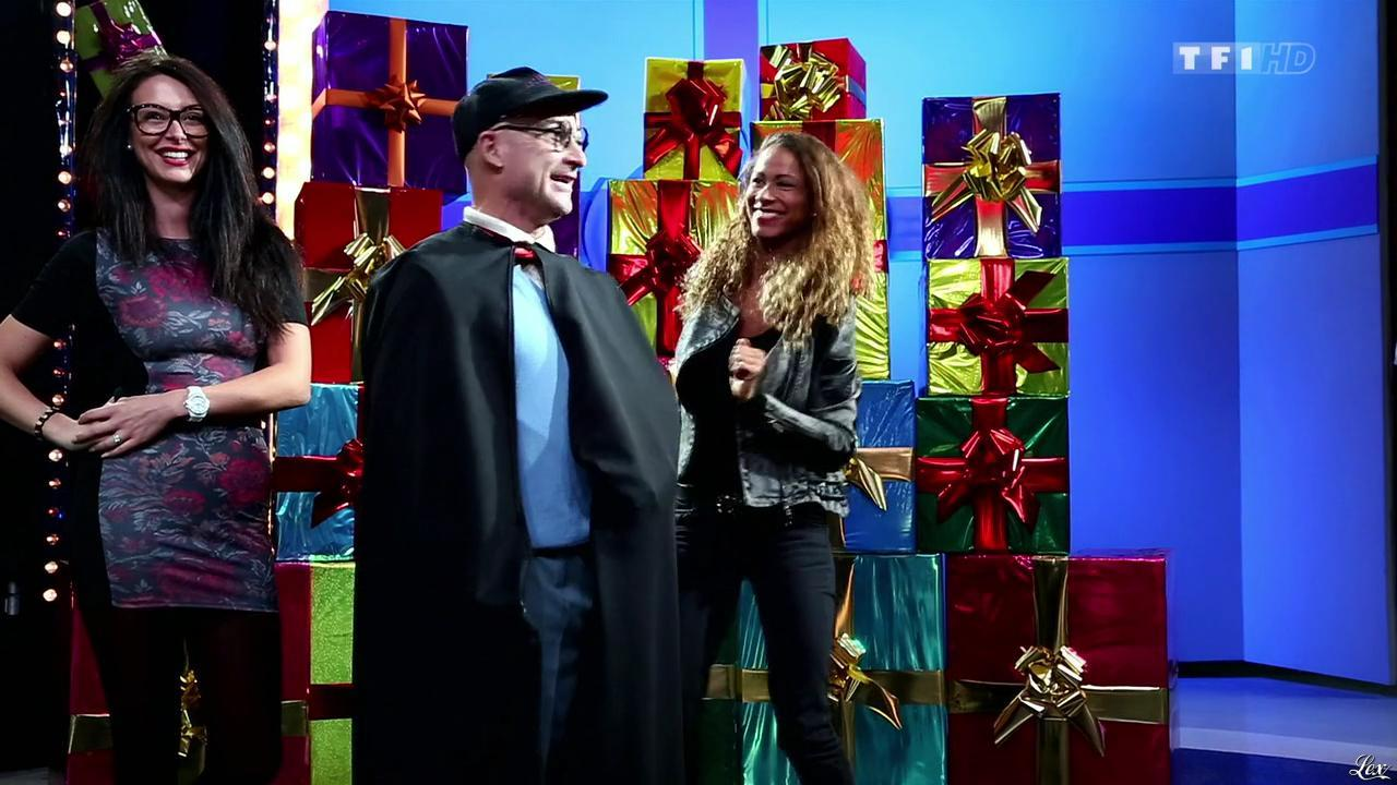 Les Gafettes, Fanny Veyrac et Doris Rouesne dans le Juste Prix. Diffusé à la télévision le 19/12/13.