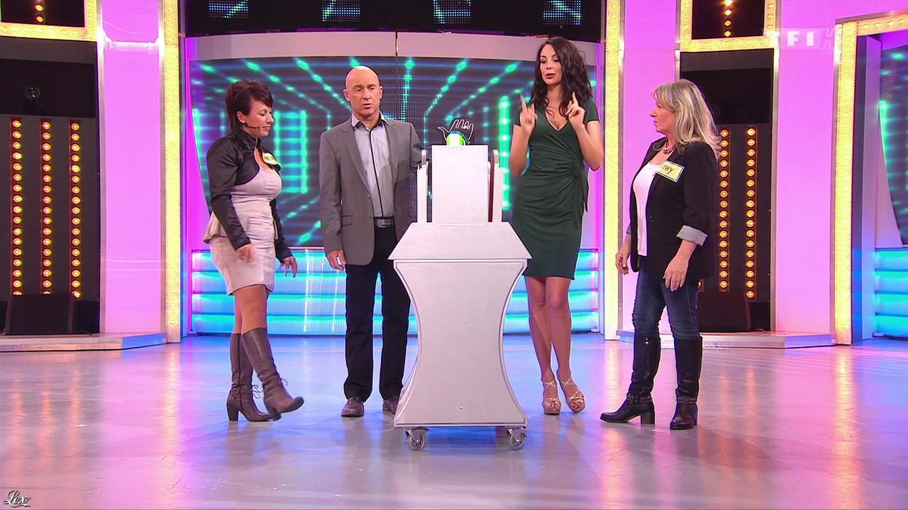 Fanny Veyrac dans le Juste Prix. Diffusé à la télévision le 14/11/13.