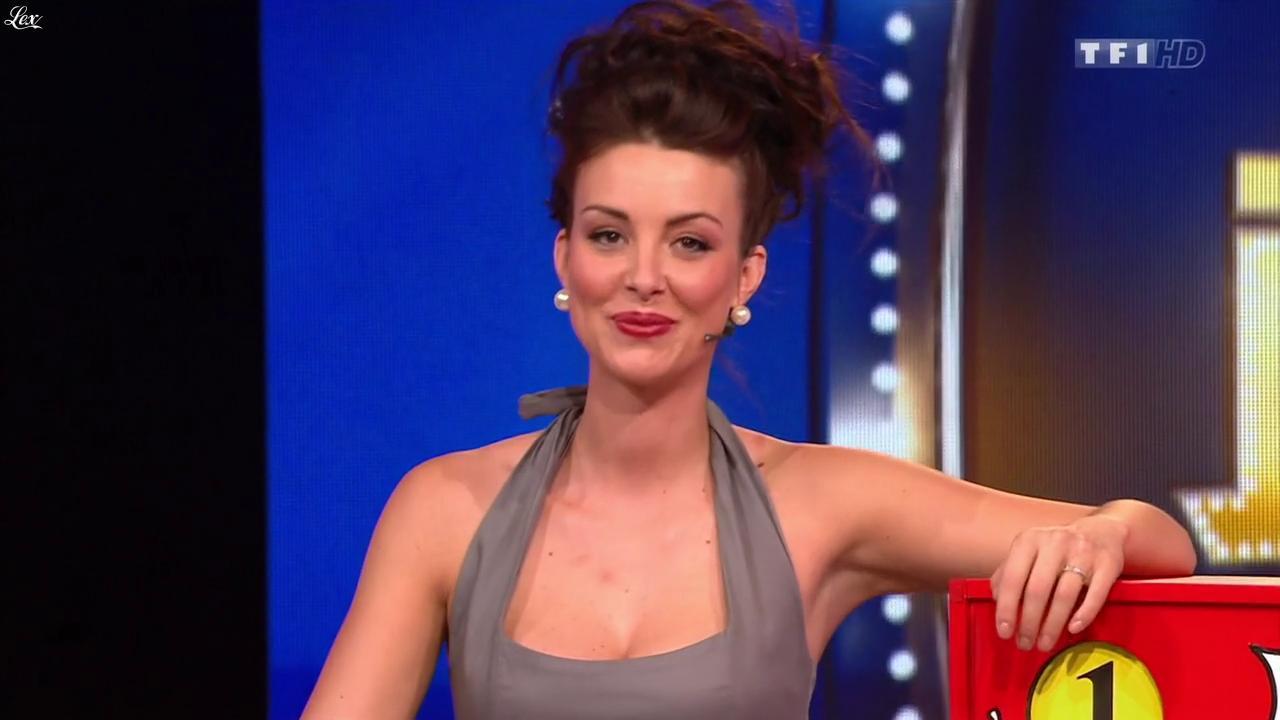 Fanny Veyrac dans le Juste Prix. Diffusé à la télévision le 18/10/13.