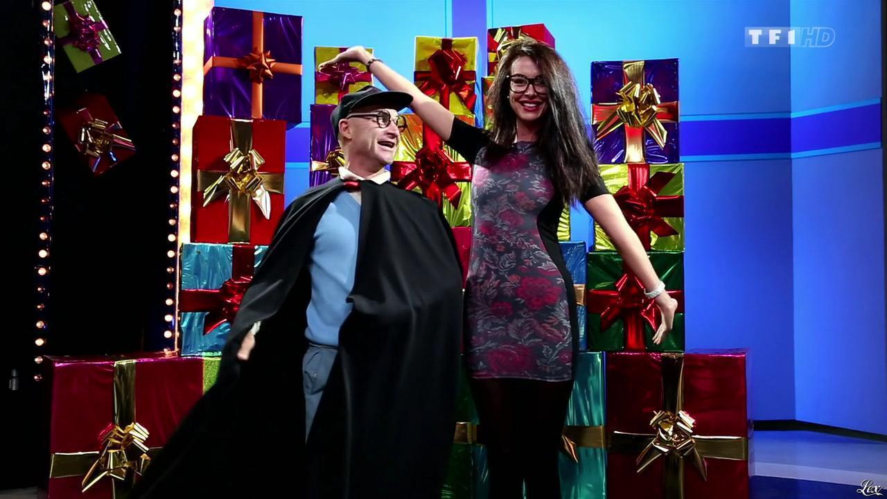 Fanny Veyrac dans le Juste Prix. Diffusé à la télévision le 19/12/13.