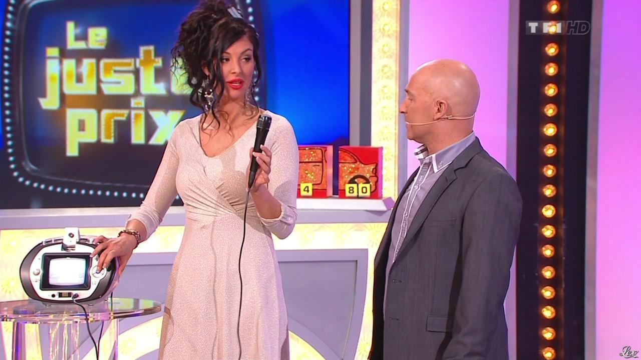 Fanny Veyrac dans le Juste Prix. Diffusé à la télévision le 22/02/13.
