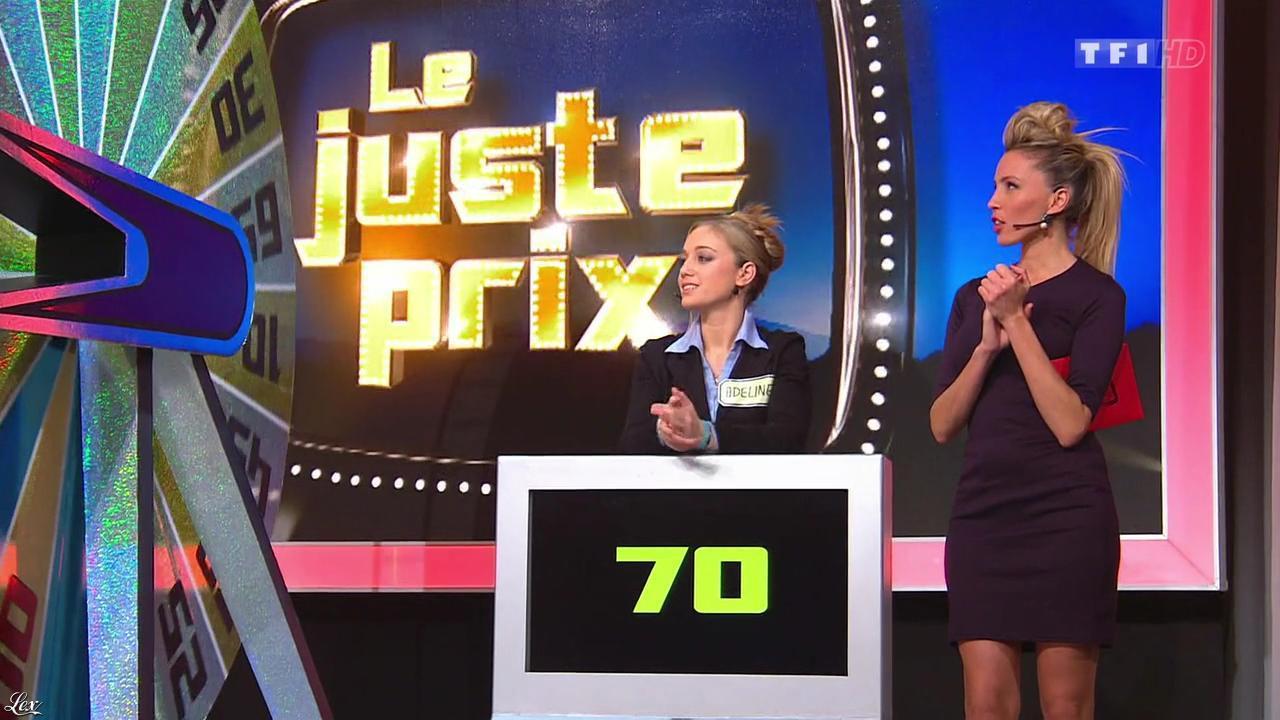Nadia Aydanne dans le Juste Prix. Diffusé à la télévision le 12/12/13.