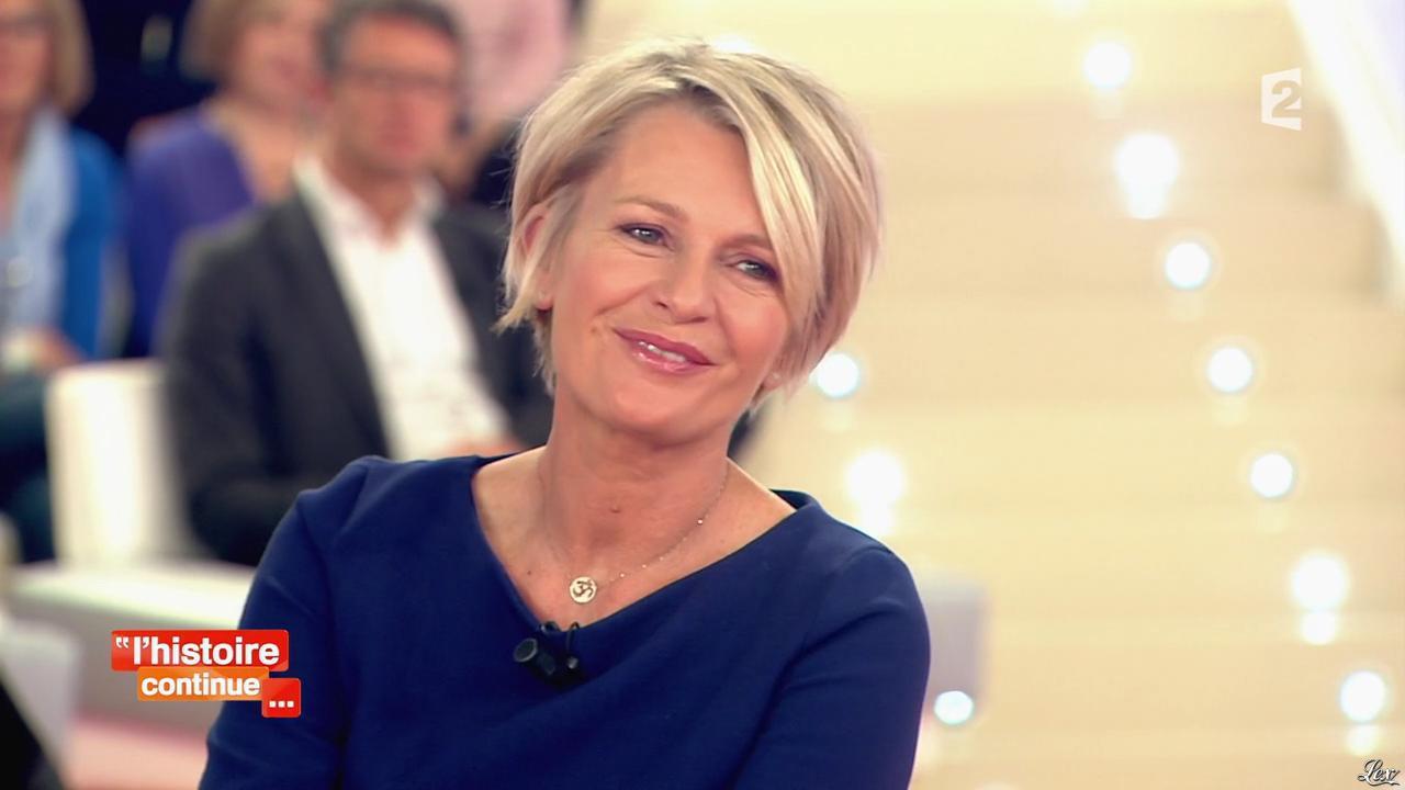 Sophie Davant dans Toute une Histoire. Diffusé à la télévision le 21/11/13.