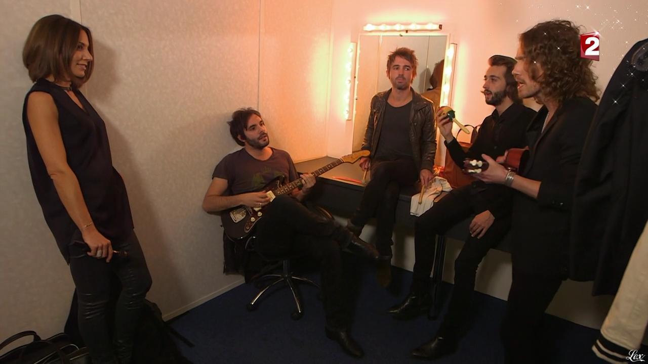 Virginie Guilhaume dans les Coulisses du Grand Show. Diffusé à la télévision le 28/12/13.