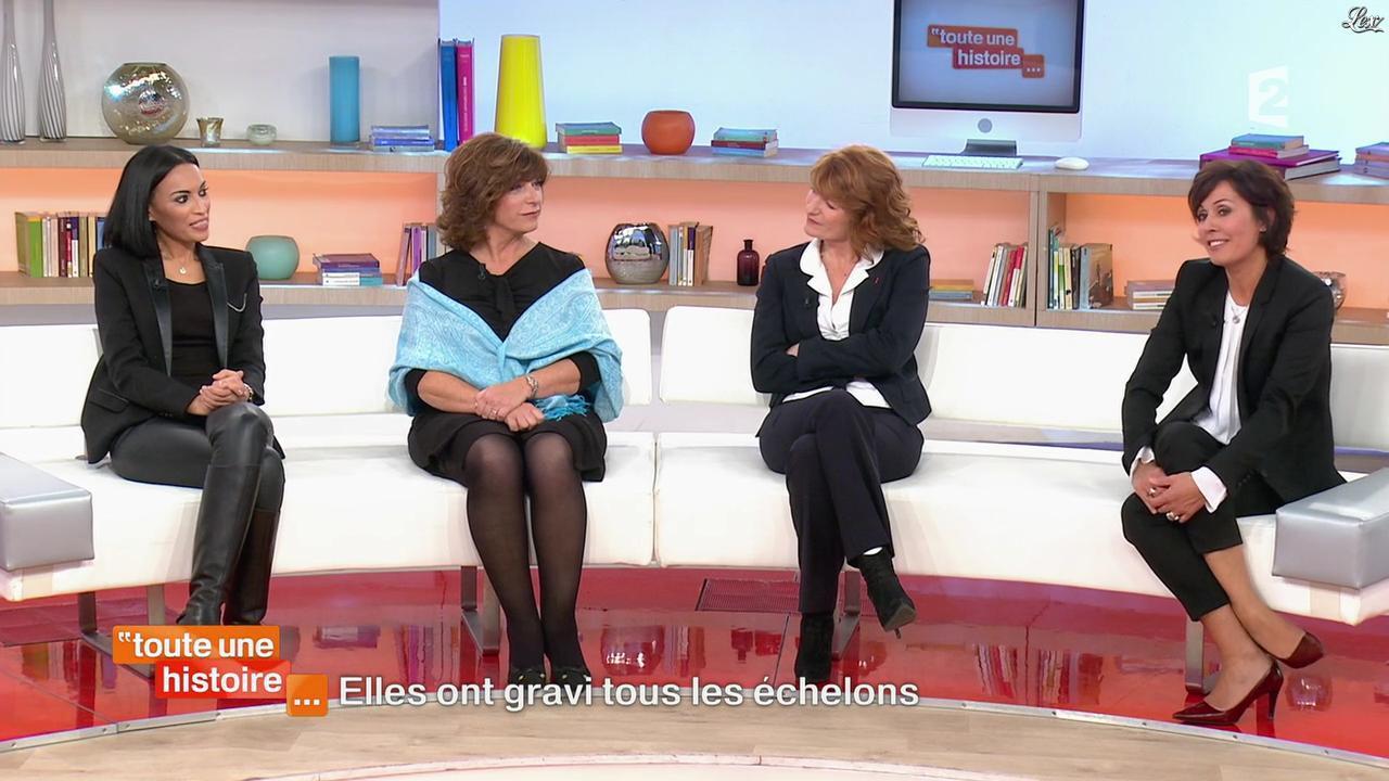 Aida dans Toute une Histoire. Diffusé à la télévision le 28/11/14.