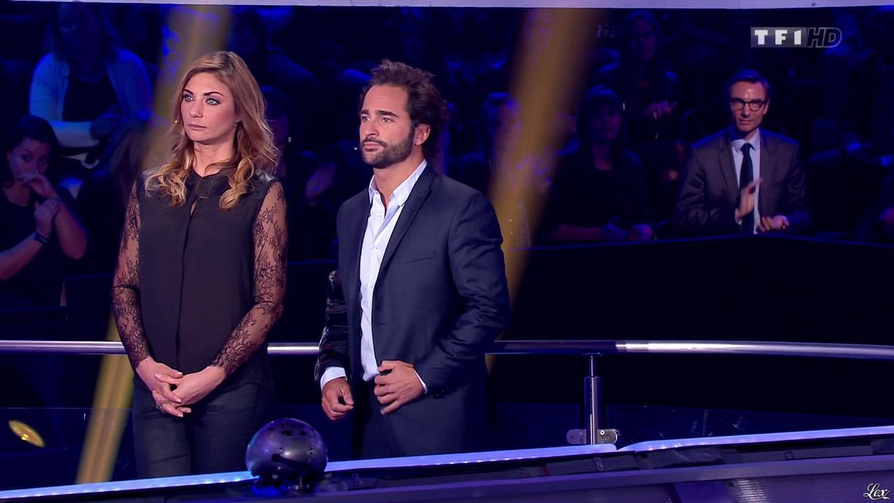 Ariane Brodier dans Money Drop. Diffusé à la télévision le 27/12/14.