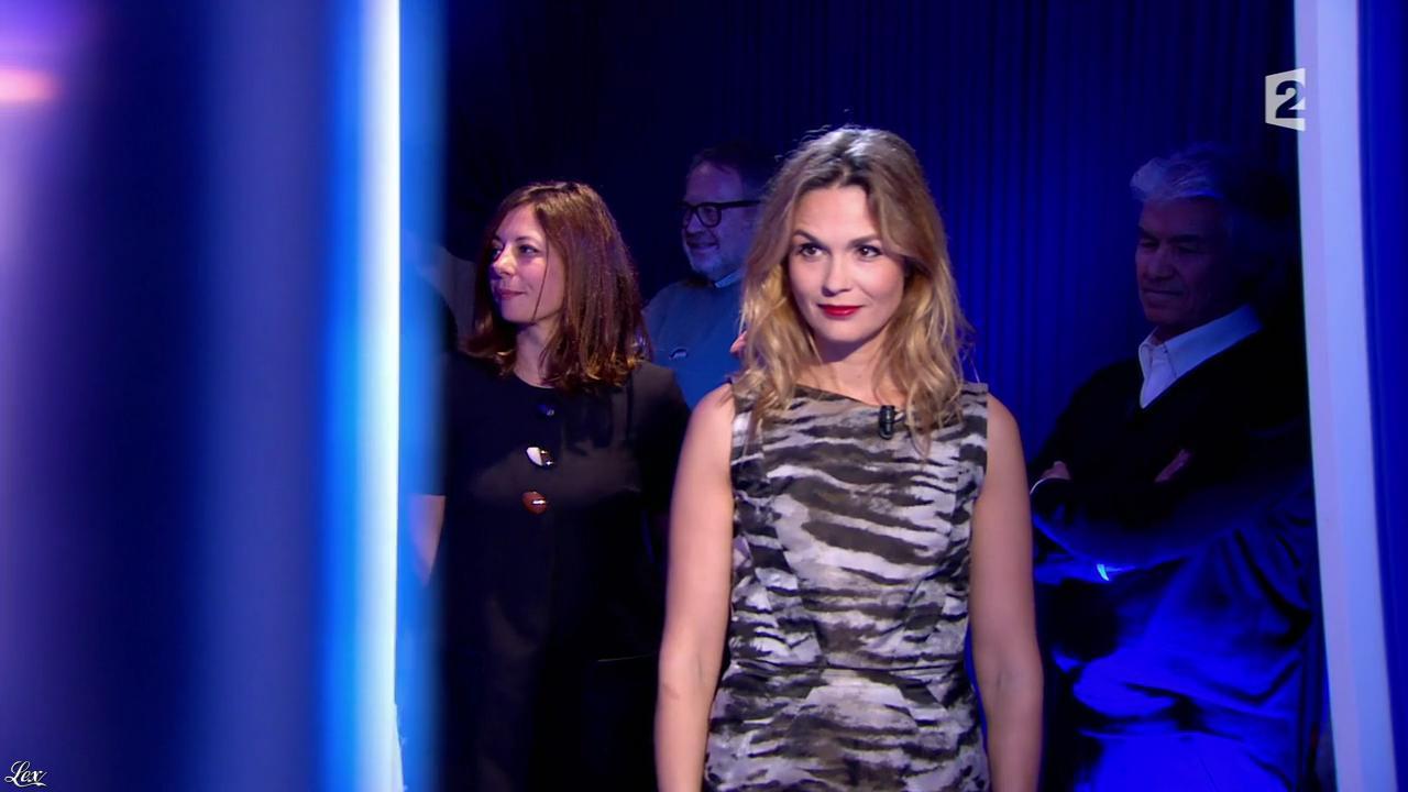 Barbara Schulz dans On n'est pas Couché. Diffusé à la télévision le 15/11/14.