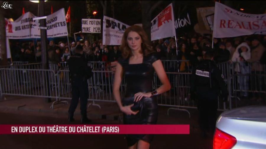Frédérique Bel dans le Grand Journal de Canal Plus. Diffusé à la télévision le 22/02/13.