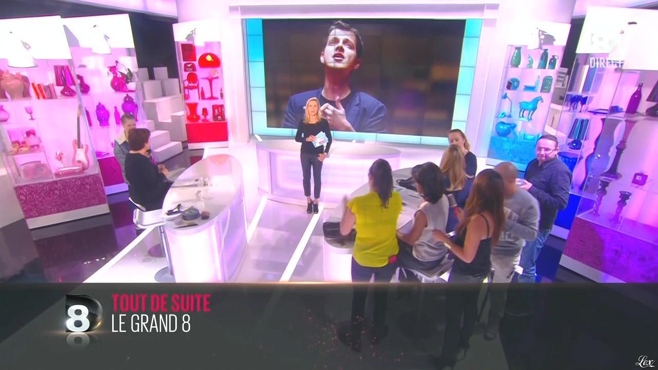 Laurence Ferrari dans une Bande-Annonce du Grand 8. Diffusé à la télévision le 21/10/14.