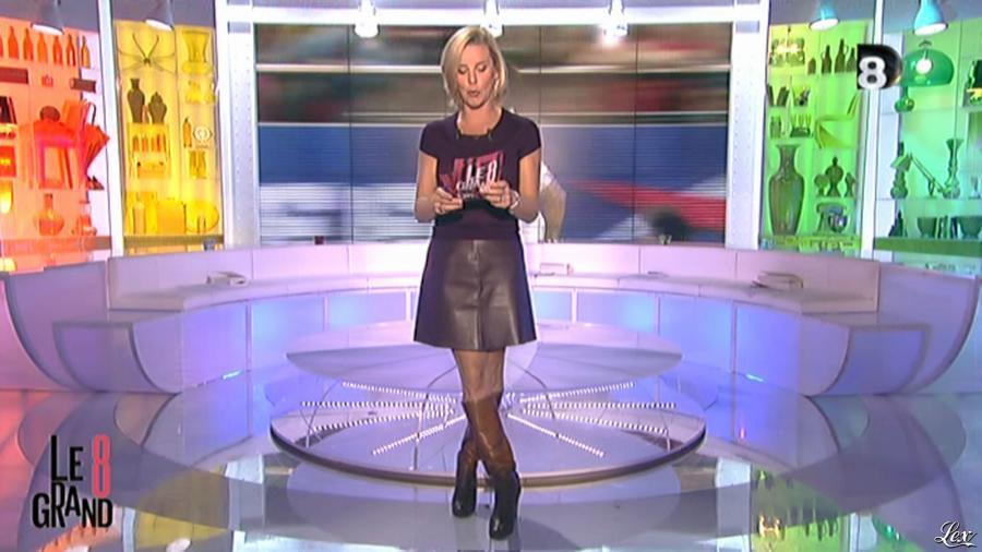 Laurence Ferrari dans le Grand 8. Diffusé à la télévision le 17/10/12.