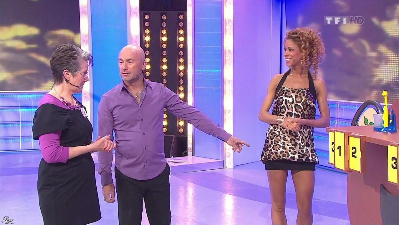 Doris Rouesne dans le Juste Prix. Diffusé à la télévision le 15/04/10.