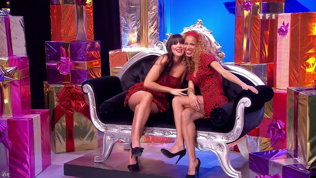 Les Gafettes, Fanny Veyrac et Doris Rouesne dans le Juste Prix. Diffusé à la télévision le 15/03/10.