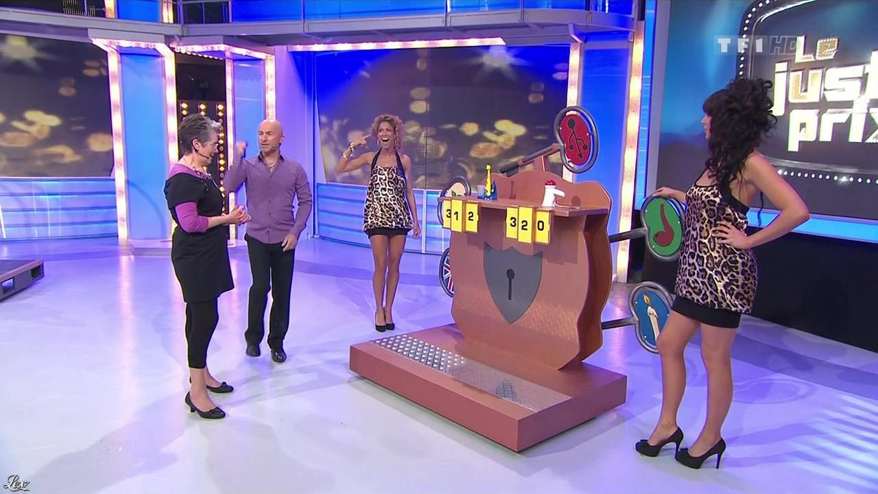 Les Gafettes, Fanny Veyrac et Doris Rouesne dans le Juste Prix. Diffusé à la télévision le 15/04/10.