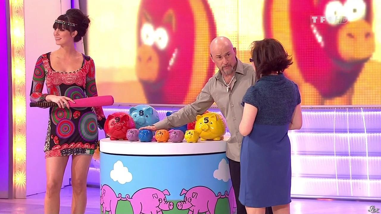 Fanny Veyrac dans le Juste Prix. Diffusé à la télévision le 12/02/10.