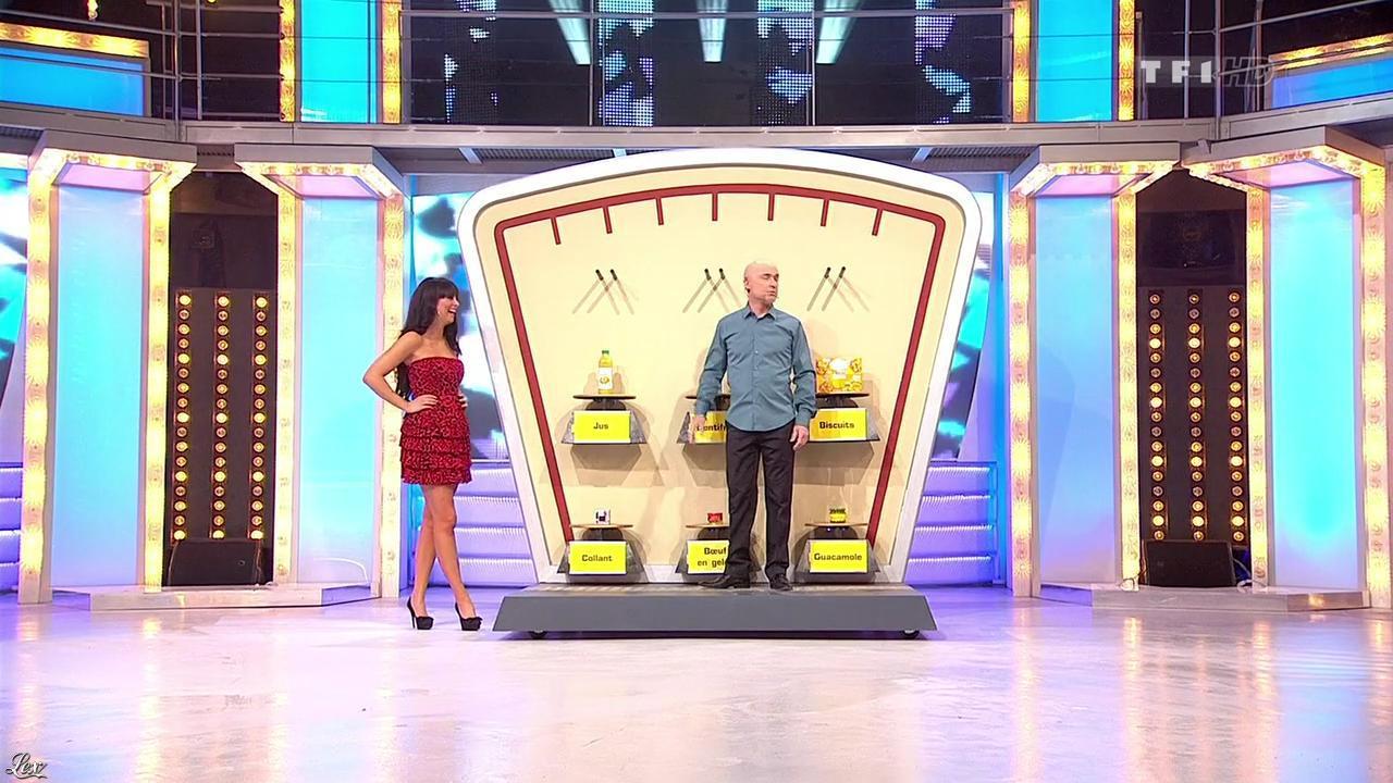 Fanny Veyrac dans le Juste Prix. Diffusé à la télévision le 15/03/10.