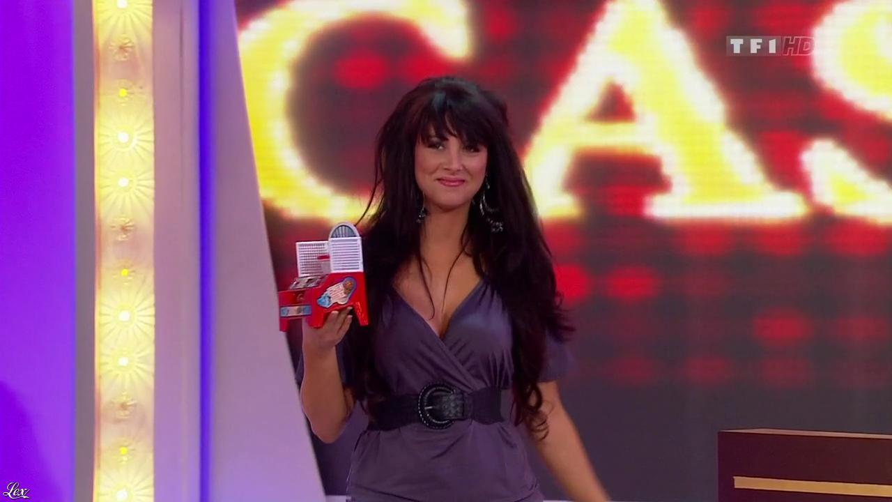 Fanny Veyrac dans le Juste Prix. Diffusé à la télévision le 16/03/10.