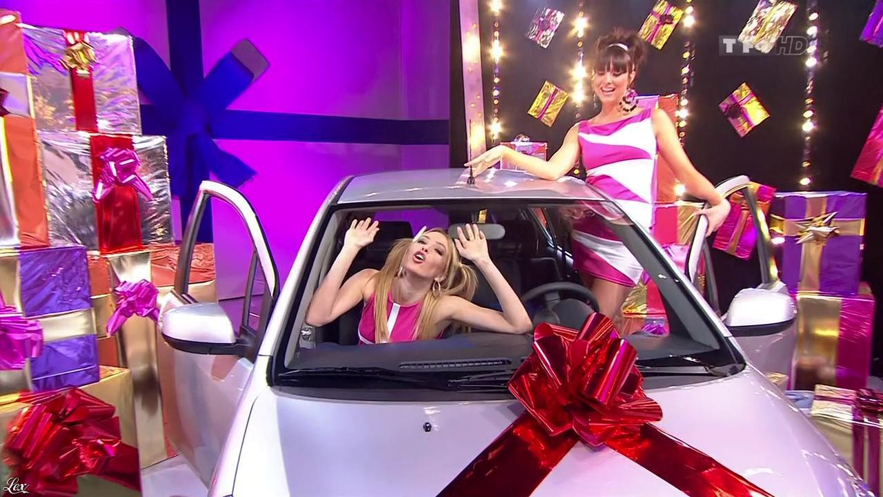 Les Gafettes, Fanny Veyrac et Nadia Aydanne dans le Juste Prix. Diffusé à la télévision le 01/03/10.