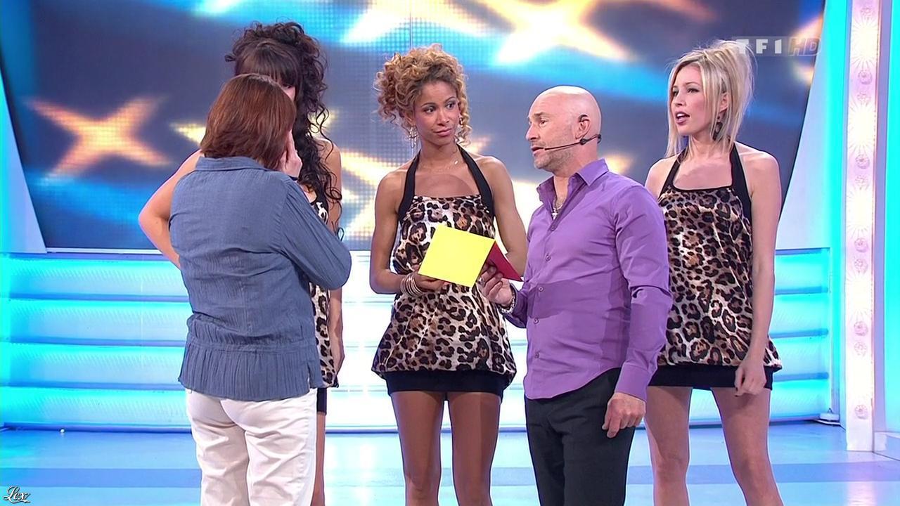 Les Gafettes, Nadia Aydanne et Doris Rouesne dans le Juste Prix. Diffusé à la télévision le 15/04/10.