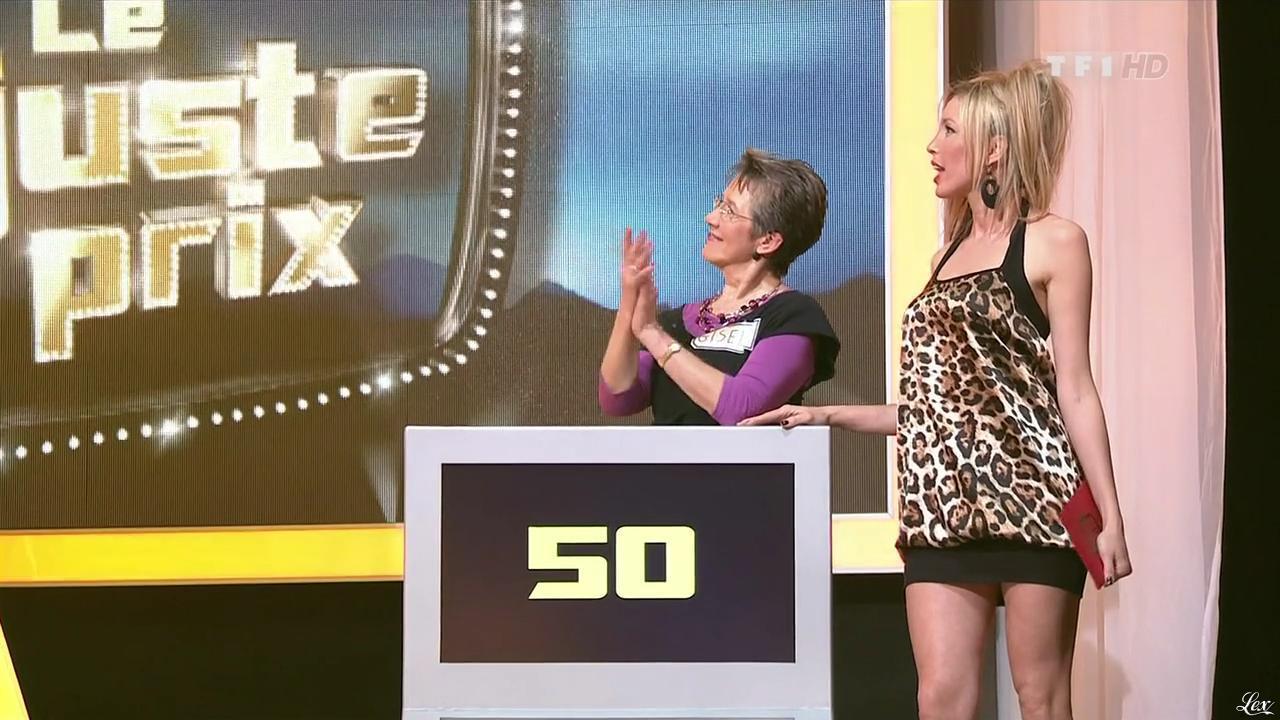 Nadia Aydanne dans le Juste Prix. Diffusé à la télévision le 15/04/10.
