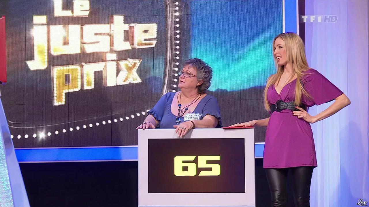 Nadia Aydanne dans le Juste Prix. Diffusé à la télévision le 16/03/10.