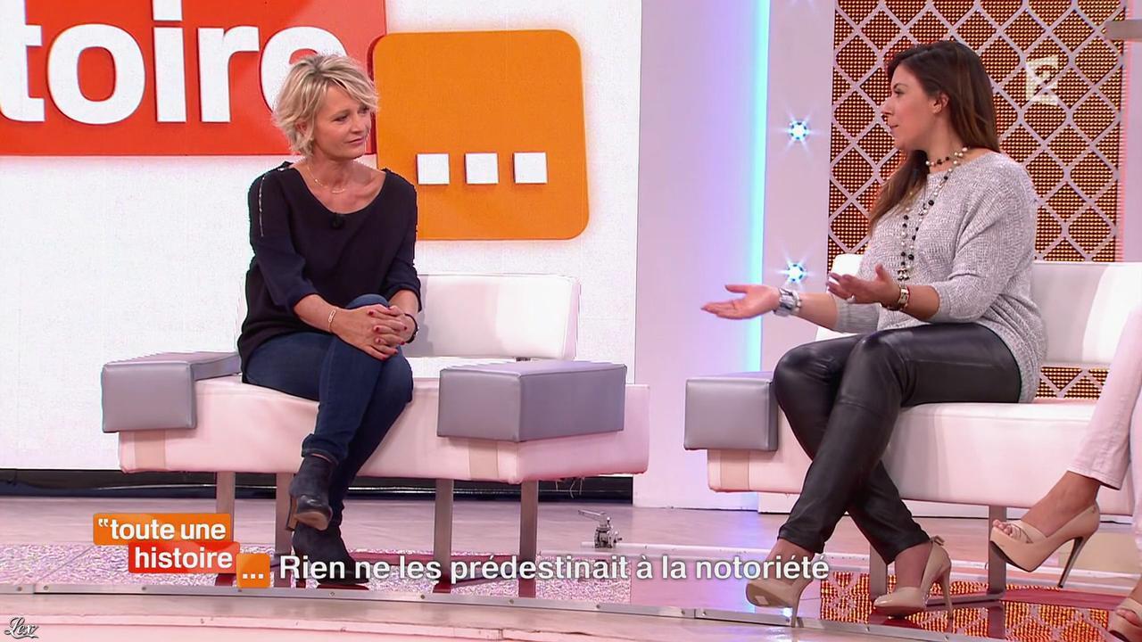 Marion Bartoli dans Toute une Histoire. Diffusé à la télévision le 23/10/14.