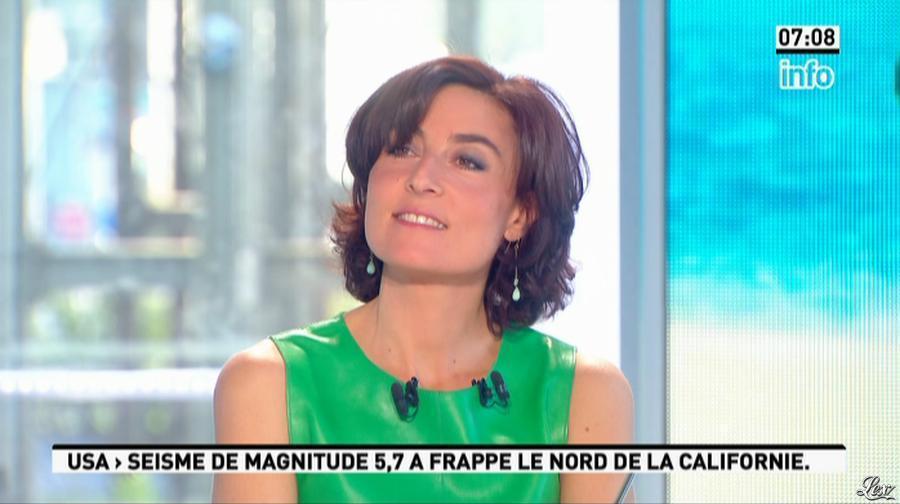 Nathalie Iannetta dans la Matinale. Diffusé à la télévision le 24/05/13.