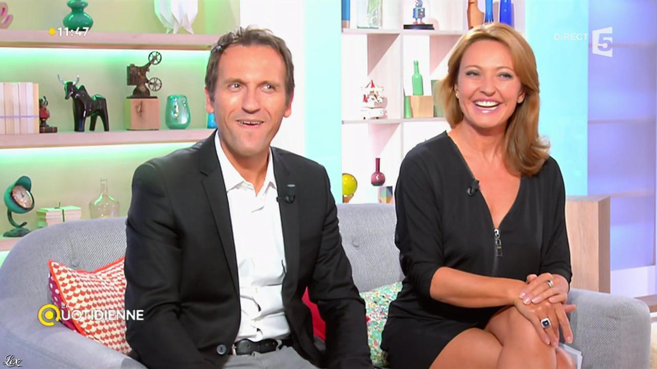 Valérie Durier dans la Quotidienne. Diffusé à la télévision le 22/09/14.