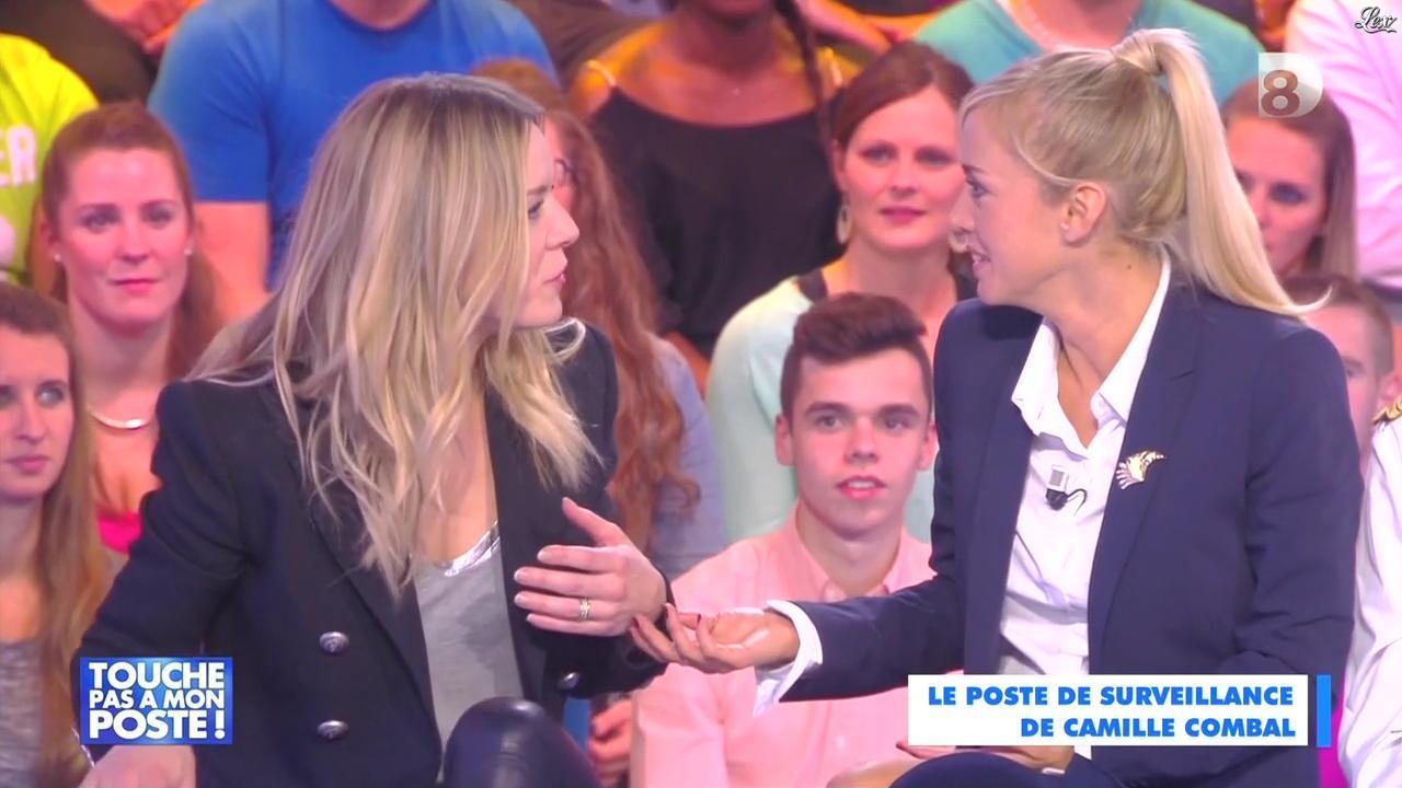 Véronic Dicaire dans Touche pas à mon Poste. Diffusé à la télévision le 29/10/14.