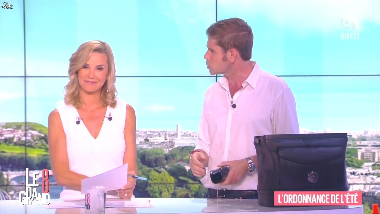 Laurence Ferrari dans le Grand 8. Diffusé à la télévision le 25/06/15.