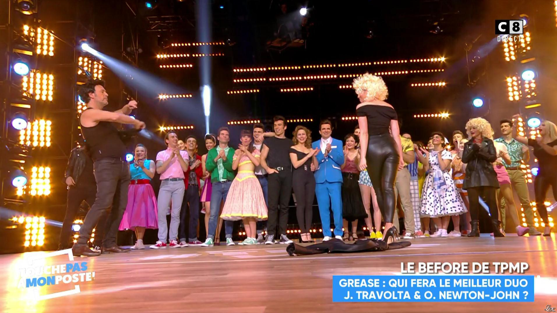 Agathe Auproux dans Touche pas à mon Poste. Diffusé à la télévision le 23/01/18.