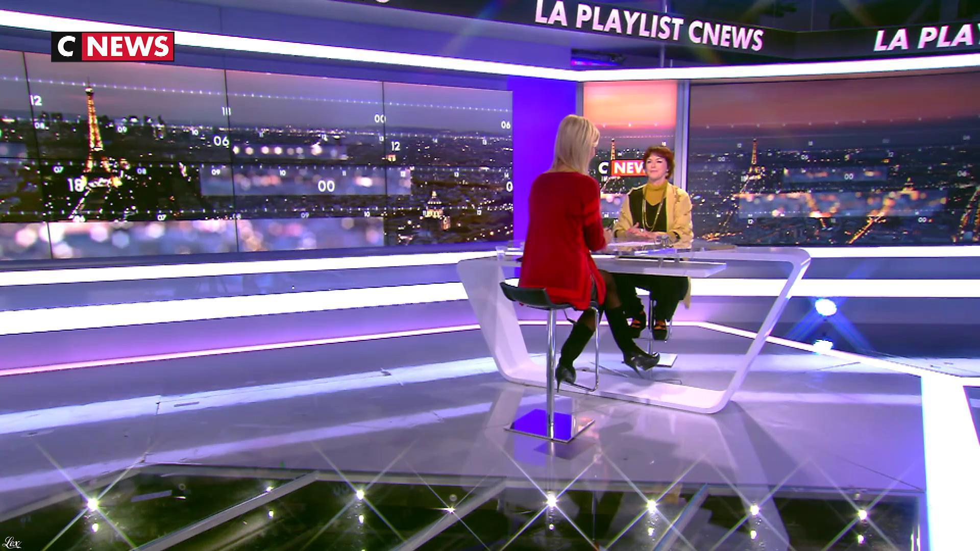 Laurence Ferrari dans la Playlist. Diffusé à la télévision le 06/01/18.