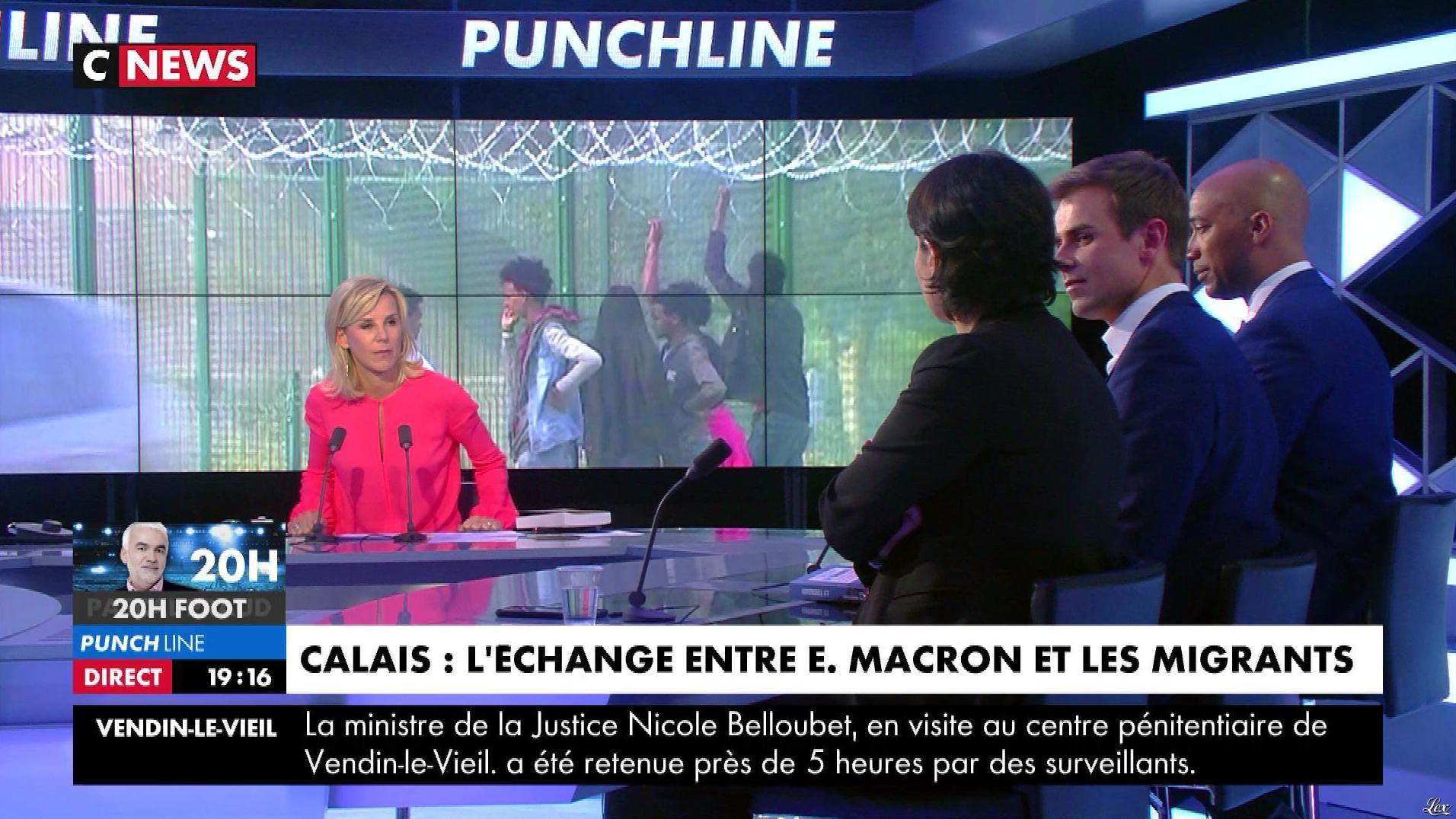 Laurence Ferrari dans Punchline. Diffusé à la télévision le 16/01/18.