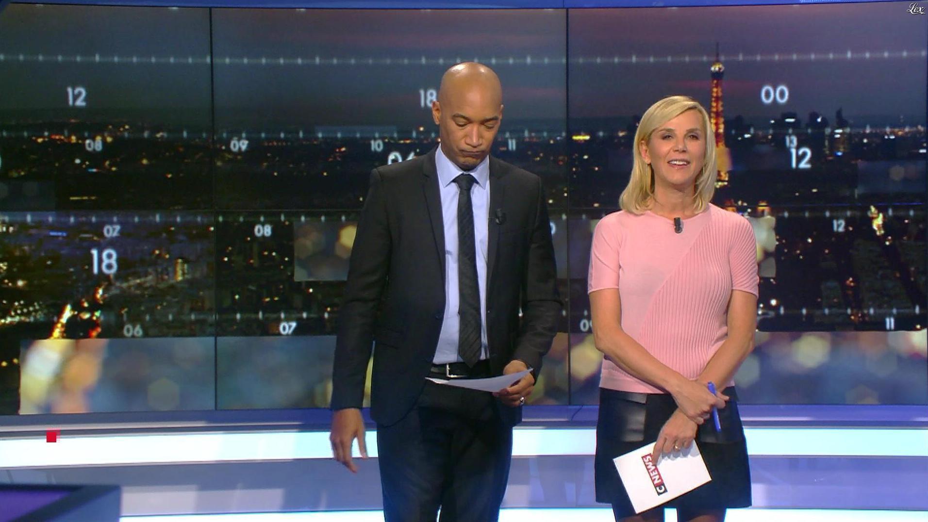 Laurence Ferrari dans Punchline. Diffusé à la télévision le 17/01/18.