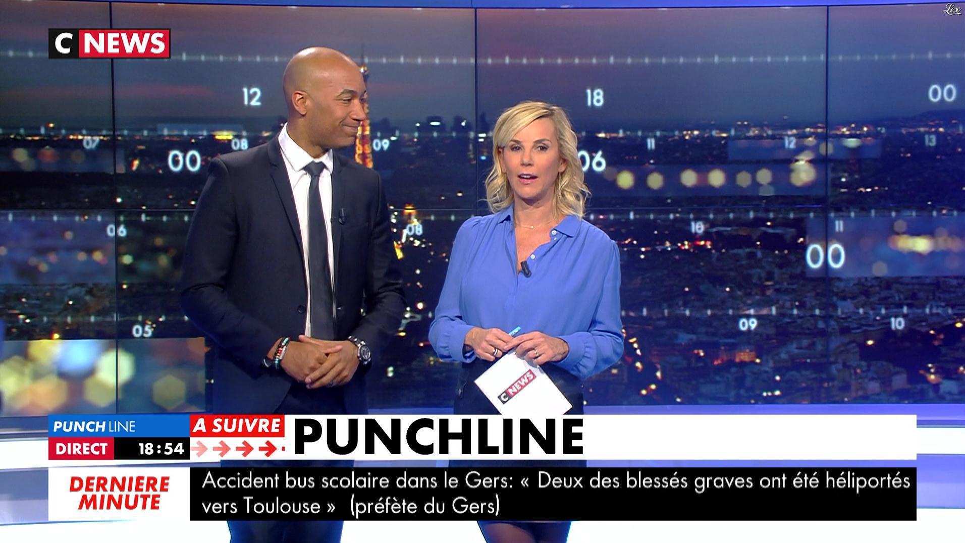 Laurence Ferrari dans Punchline. Diffusé à la télévision le 25/01/18.