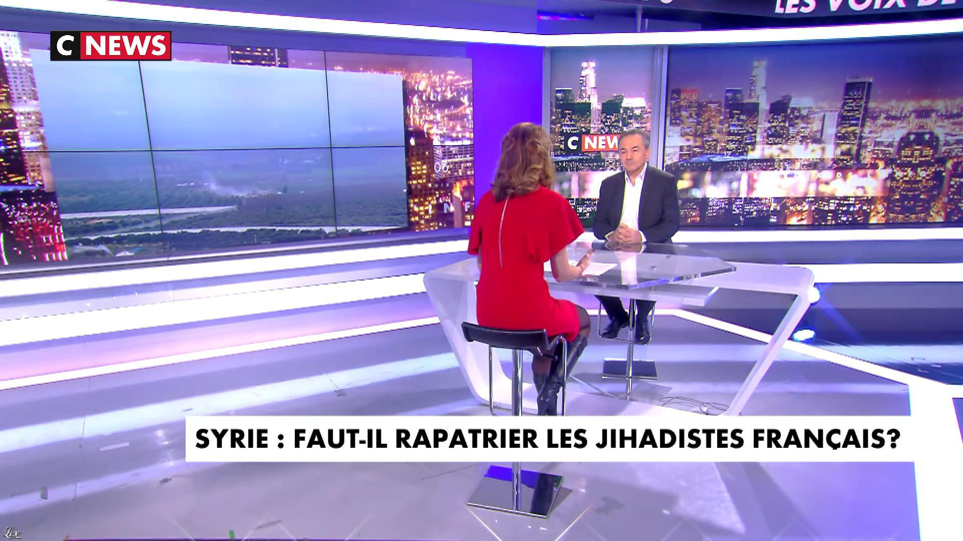 Sonia Mabrouk dans les Voix de l'Info. Diffusé à la télévision le 22/01/18.
