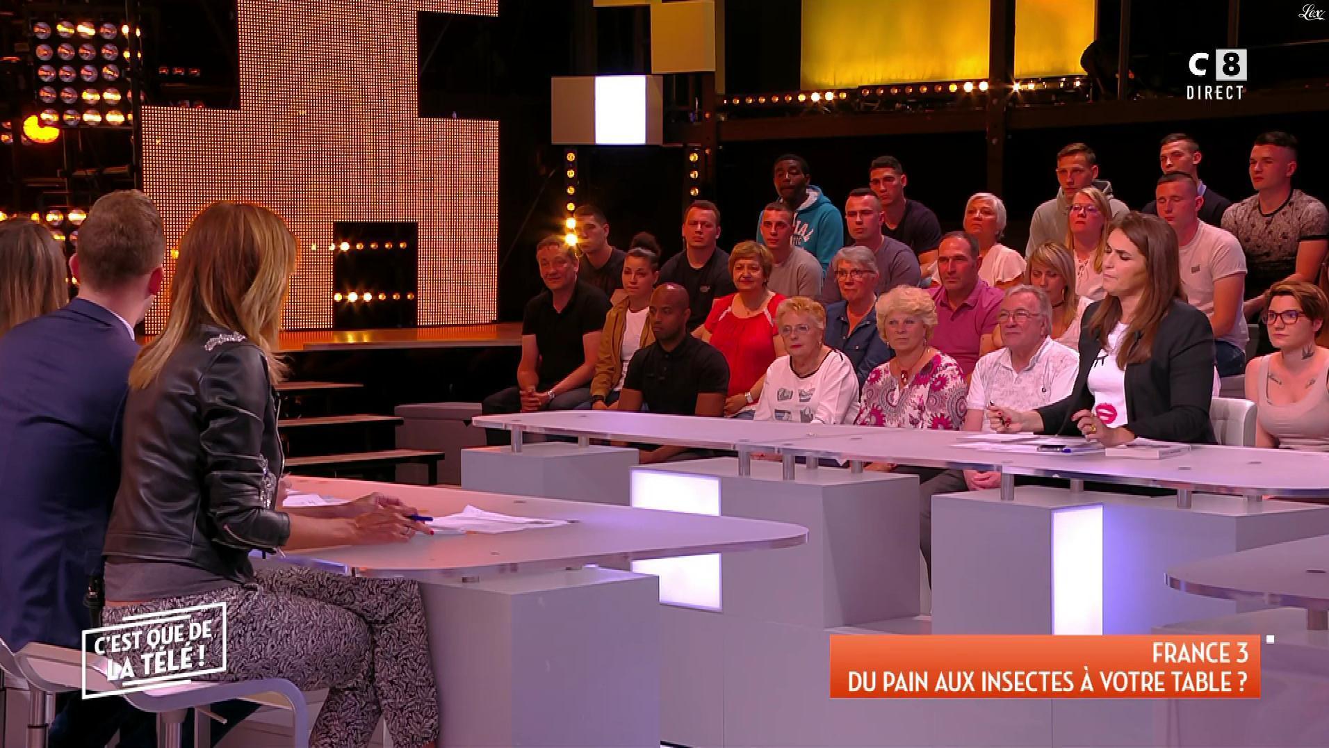 Caroline Ithurbide dans c'est Que de la Télé. Diffusé à la télévision le 01/06/18.