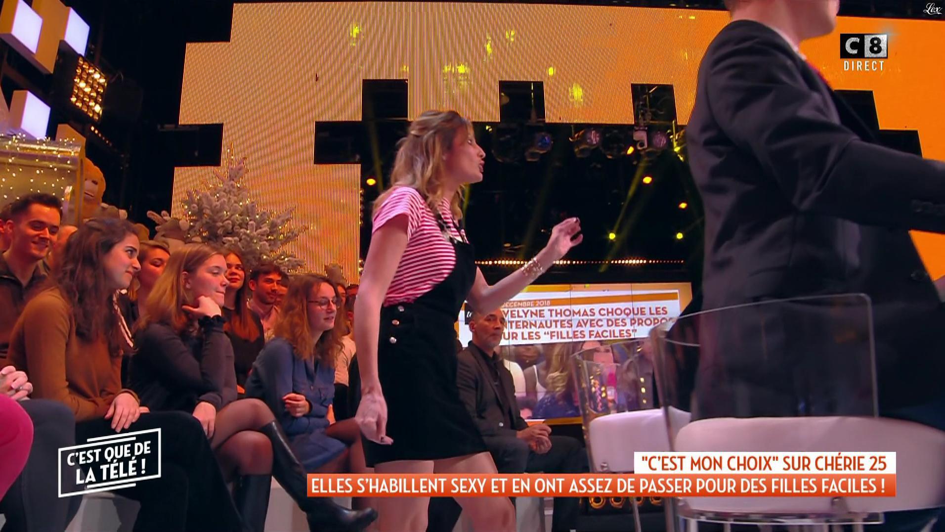 Caroline Ithurbide dans c'est Que de la Télé. Diffusé à la télévision le 10/12/18.