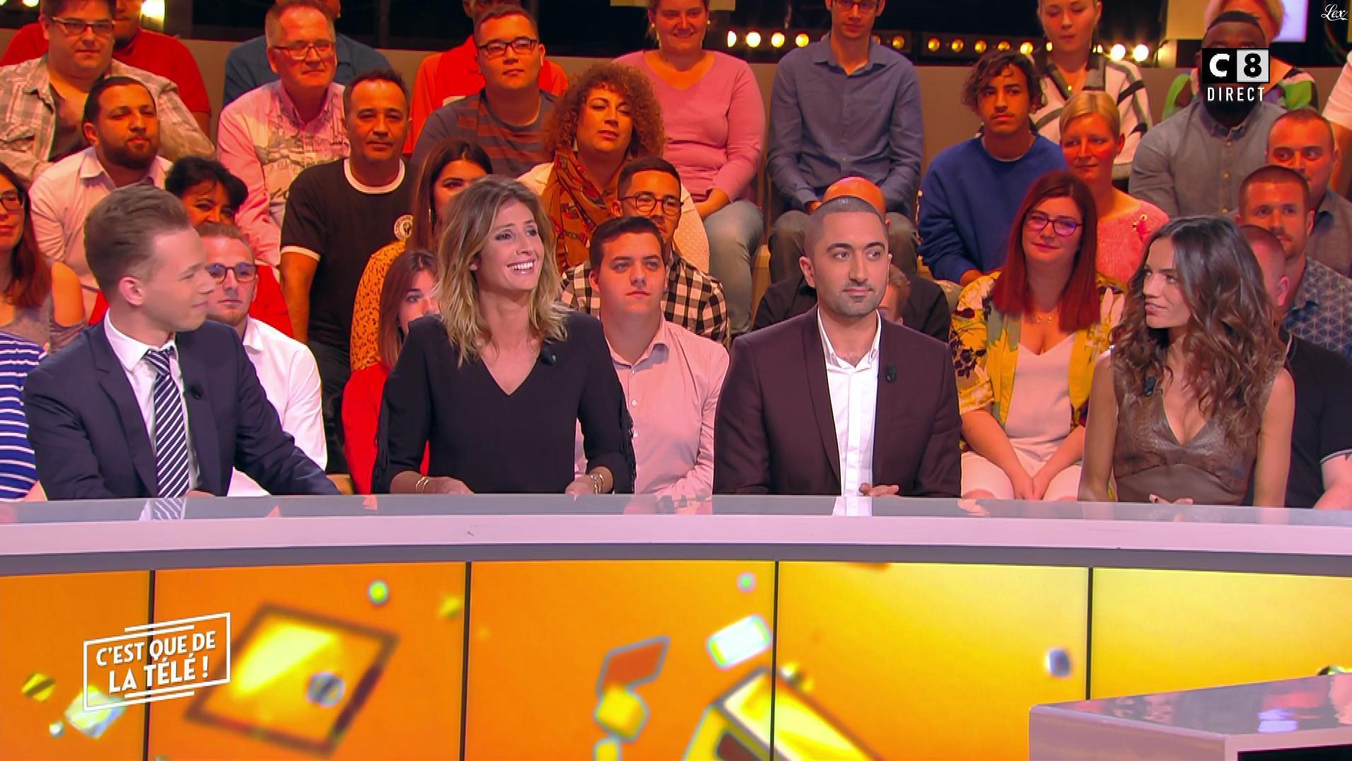 Caroline Ithurbide et FrancesÇa Antoniotti dans c'est Que de la Télé. Diffusé à la télévision le 22/10/18.