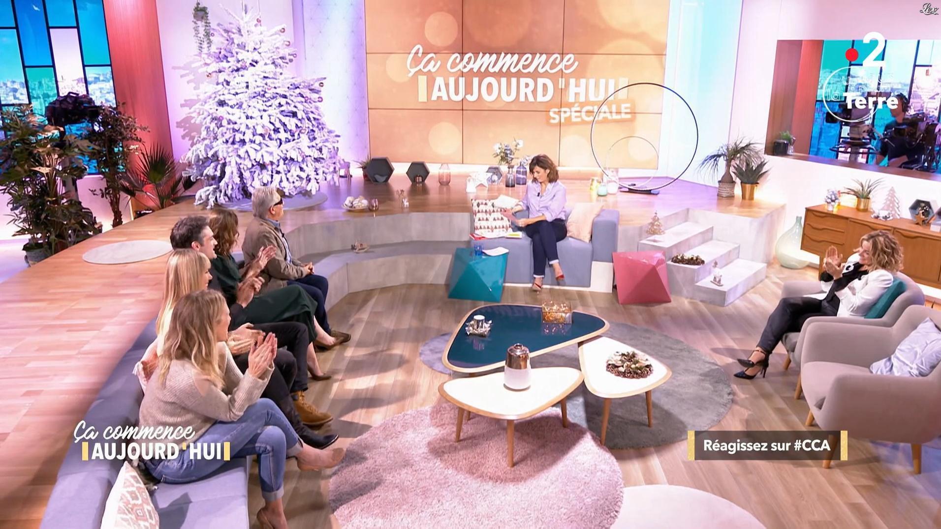Christèle Albaret dans Ça Commence Aujourd'hui. Diffusé à la télévision le 11/12/18.
